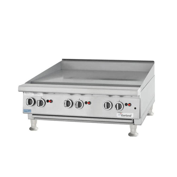 "Garland GTGG48-G48M Natural Gas / Liquid Propane 48"" Countertop Griddle with Manual Controls"