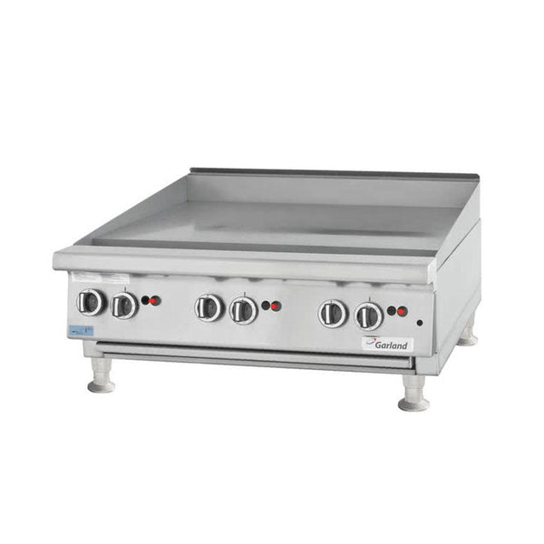"Garland GTGG60-G60M Natural Gas / Liquid Propane 60"" Countertop Griddle with Manual Controls"