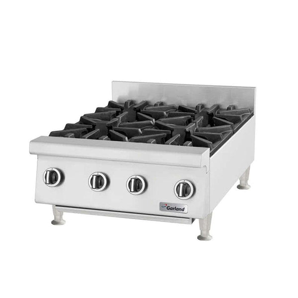 "Garland GTOG48-8 Natural Gas / Liquid Propane 8 Burner 48"" Countertop Range - 240,000 BTU"