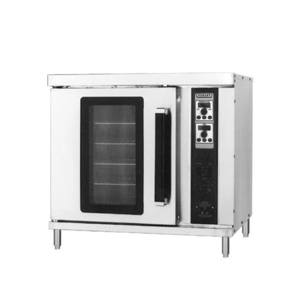 Hobart HEC20 Single Deck Half Size Electric Convection Oven - 240V, 3 Phase, 5500W