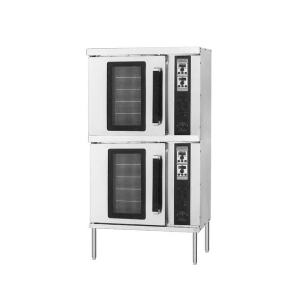 Hobart HEC202 Double Deck Half Size Electric Convection Oven - 240V, 3 Phase, 11 kW