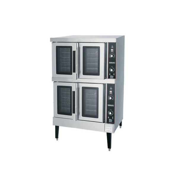 Hobart HEC502 Double Deck Full Size Electric Convection Oven - 240V, 3 Phase, 12.5 kW