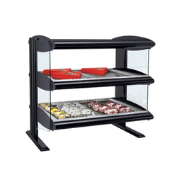 Hatco HZMH-XXD Heated Zone Merchandiser | Dual Shelf Food Display