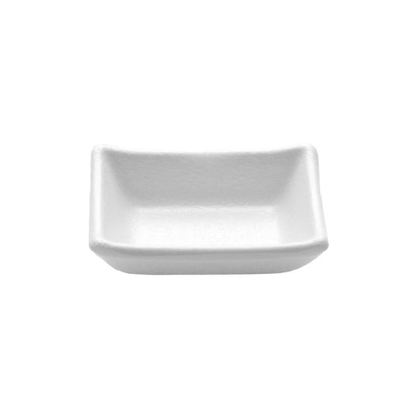 "Elite Global Solutions JWT57 Zen Rectangular Kozara White, 3 5/8"" x 2 3/4"" x 1 1/4"" h., 2 oz."