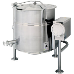 Garland Cleveland KEL25T 25 Gallon Tilting 2/3 Steam Jacketed Electric Kettle - 208/240V