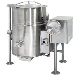 Garland Cleveland KGL25T Natural Gas 25 Gallon Tilting 2/3 Steam Jacketed Kettle - 90,000 BTU