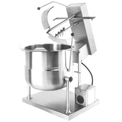 Garland Cleveland MKET12T 12 Gallon Tilting 2/3 Steam Jacketed Electric Tabletop Mixer Kettle - 208/240V