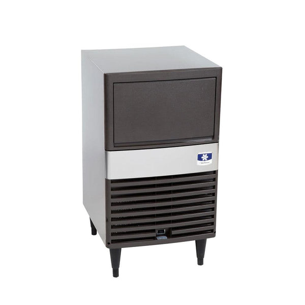 "Manitowoc QM-30A 19 3/4"" Air Cooled Undercounter Full Size Cube Ice Machine with 30 lb. Bin"
