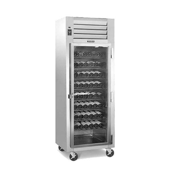 "Traulsen RH126W-WR01 30"" One Section Wine Cooler w/ (1) Zone - 120-Bottle Capacity"