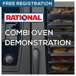 Rational Combi Oven Demonstration 2020 Feb 25 3:00 PM