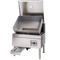 Garland Cleveland SEL30TR 30 Gallon DuraPan Electric Open Base Tilt Skillet - 208V, 1 Phase, 14.4 kW