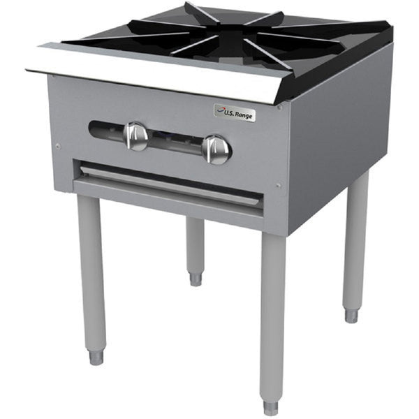 "Garland SP-1844 Natural Gas Countertop Stock Pot Stove with 6"" legs - 45,000 BTU"