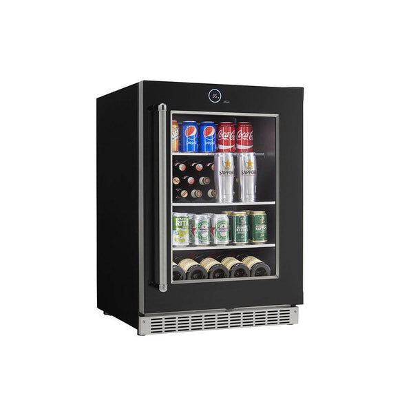 "Danby Silhouette Reserve 24"" Wide Built-in All-Refrigerator - Beverage & Wine Centre  Right Hand Swing Only (Reserve)  - SRVBC050R"