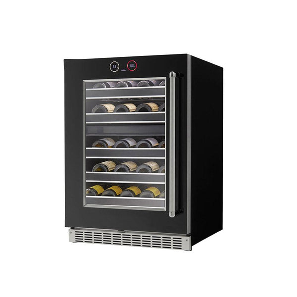 "Danby Silhouette Reserve 37-Bottle Built-in Wine Cooler - 24"" Left Hand Swing Only (Reserve) - SRVWC050L"