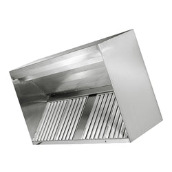 Fast Kitchen Hood SSH-MUA Wall-type Exhaust hood with internal make-up air function and baffle filters
