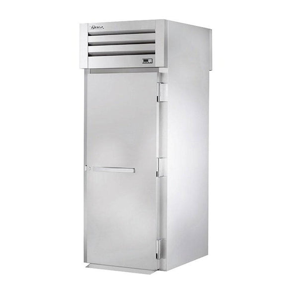 "True STA1HRT89-1S-1S 35"" Roll-In Stainless Steel Solid Swing Door Heating and Holding Cabinet - 2000W"