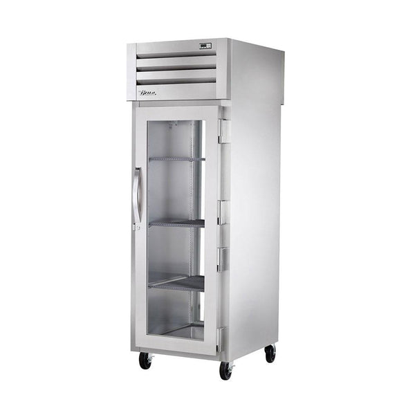 True STA1RPT-1G-1G-HC Spec Series Pass-Thru Glass Front and Glass Rear Swing Doors Refrigerator