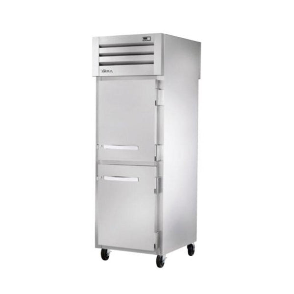 True STA1RPT-2HS-1S-HC Spec Series Pass-Thru Solid Half Front / Solid Rear Swing Doors Refrigerator