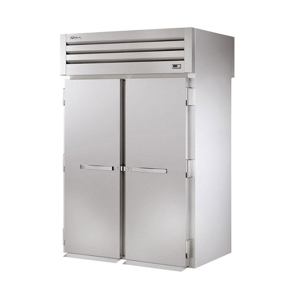 "True STA2RRT-2S-2S 68"" x 83"" Roll-Thru Solid Swing Door Refrigerator"
