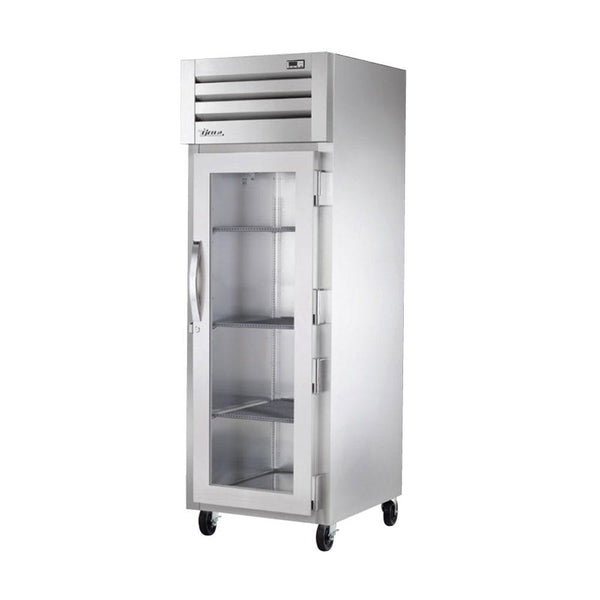 "True STG1F-1G-HC 27.5"" Reach In Glass Swing Door Freezer"
