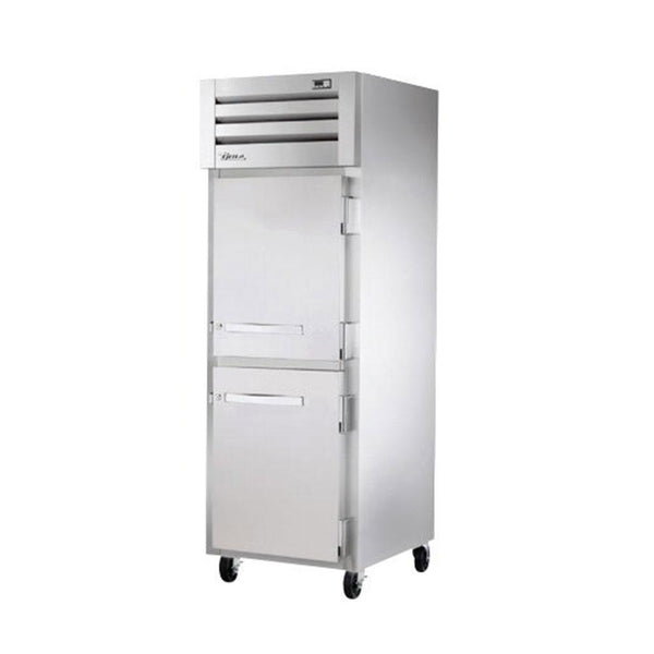 "True STG1H-2HS 27.5"" Reach-In Solid Half Swing Door Heating and Holding Cabinet - 1500W"
