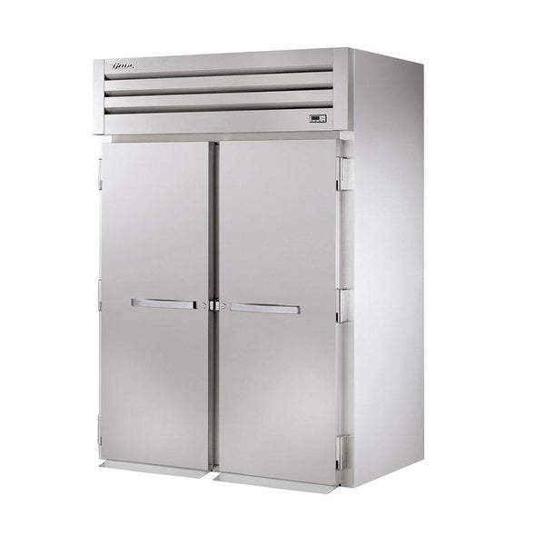 "True STG2FRI-2S 68"" Spec Series Roll-In Solid Swing Door Freezer"