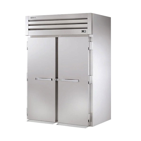 True STG2HRI-2S Roll-In Solid Swing Door Heated Cabinet - 4000W