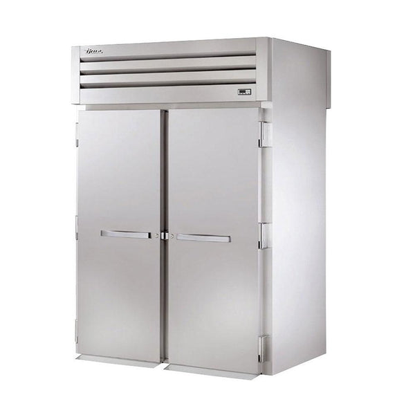 "True STG2HRT-2S-2S 68"" Roll-Thru Solid Swing Door Heated Cabinet - 4000W"