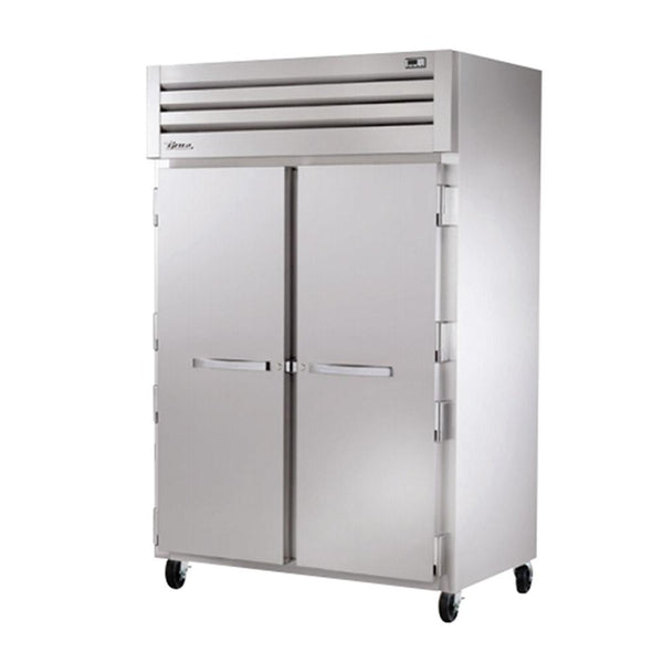 "True STG2R-2S-HC 53"" 2-Solid Door Reach In Refrigerator"