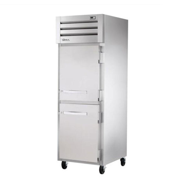 "True STR1H-2HS 27.5"" Reach-In Solid Half Swing Door Heating and Holding Cabinet - 1500W"