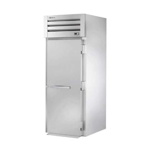 "True STR1HRI89-1S 35"" x 88"" Solid Swing Door Heating and Holding Cabinet - 2000W"