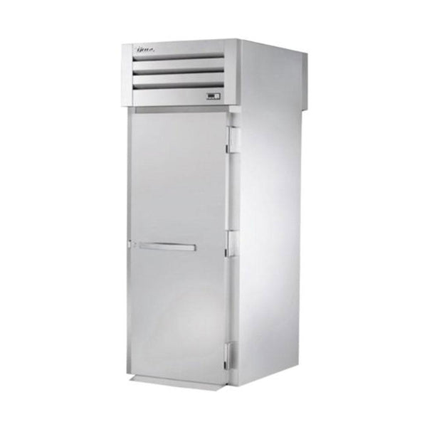 "True STR1HRT-1S-1S 35"" x 83"" Roll-Thru Solid Swing Door Heating and Holding Cabinet - 2000W"