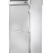 "True STR1HRT89-1S-1S 35"" x 88"" Roll-Thru Solid Swing Door Heating and Holding Cabinet - 2000W"