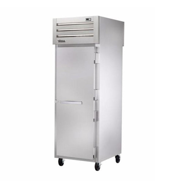 "True STR1RPT-1S-1S-HC 27.5"" Pass-Thru Solid Front / Solid Rear Swing Door Refrigerator"