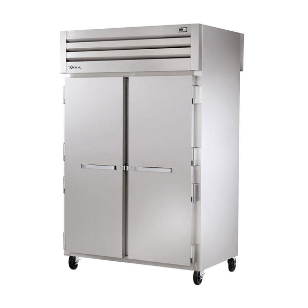 "True STR2F-2S-HC 52"" Reach-In Solid Swing Door Freezer"