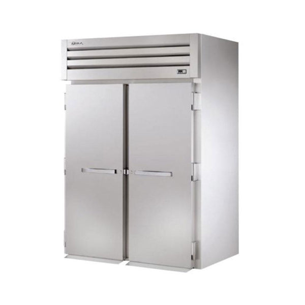 "True STR2FRI-2S 68"" Roll-In Solid Swing Door Freezer"