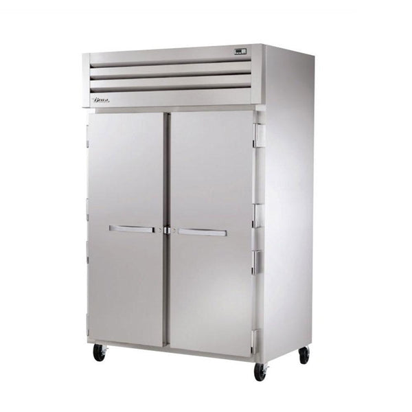 "True STR2H-2S 52"" Reach-In Solid Swing Door Heating and Holding Cabinet - 3000W"