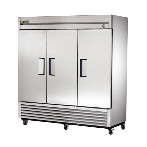"True T-72F-HC 78"" Reach-In 3 Solid Door Freezer"