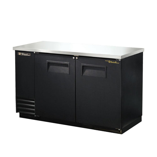 "True TBB-2-HC 59"" 2-Door Back Bar Cooler"
