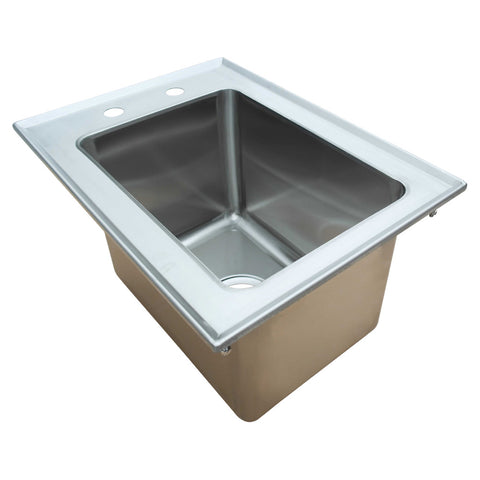Thorinox TDIS Drop-in Sink, Stainless