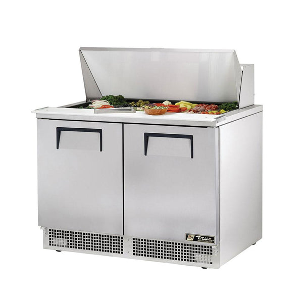 "True TFP-48-18M 48"" Mega Top 2-Door Food Prep Table"