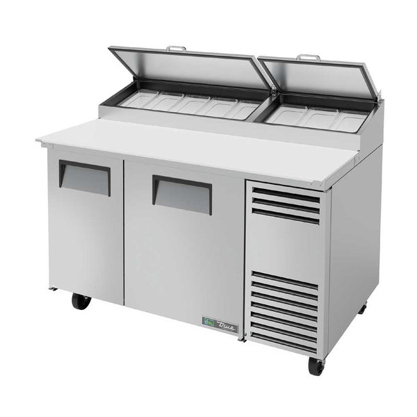 "True TPP-AT-60-HC 60"" 8 Pan Pizza Prep Table"