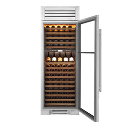 True Residential TR-30DZW-R-SG-A 150-Bottle Wine Cooler