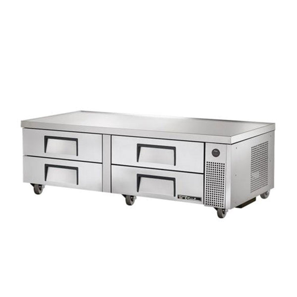 "True TRCB-72 72"" 4-Drawer Refrigerated Chef Base"