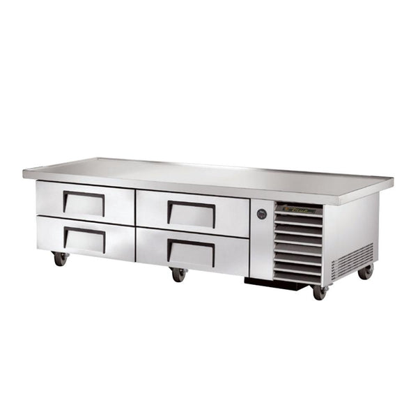 "True TRCB-79-86 86"" 4-Drawer Refrigerated Chef Base"