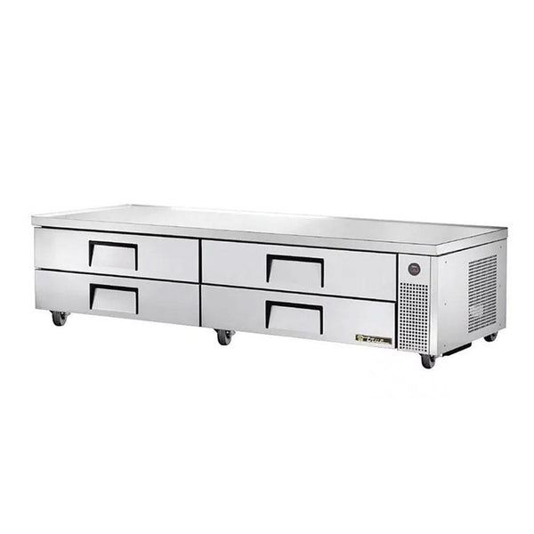 "True TRCB-96 96"" 4-Drawer Refrigerated Chef Base"