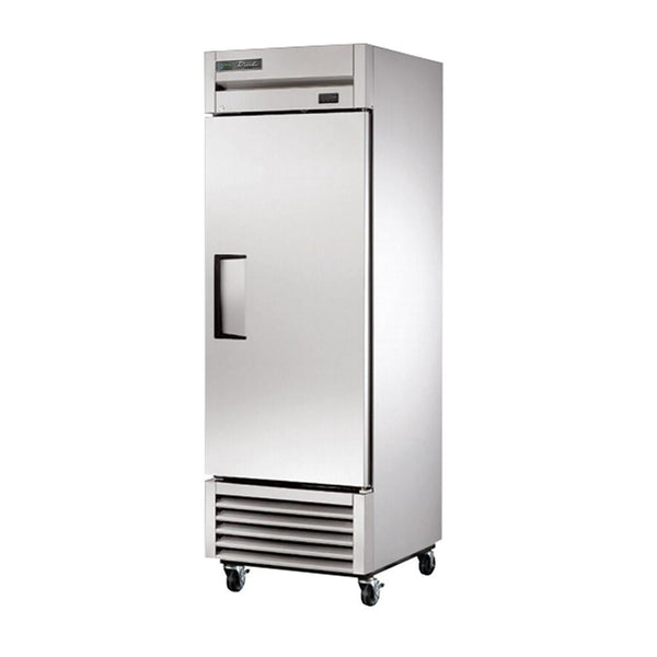 "True TS-23F-HC 27"" Stainless Steel Reach-In Solid Door Freezer"