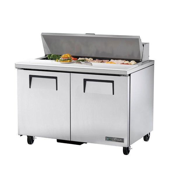 "True TSSU-48-12-HC 48"" 12 Pan Salad/Sandwich Prep Table"