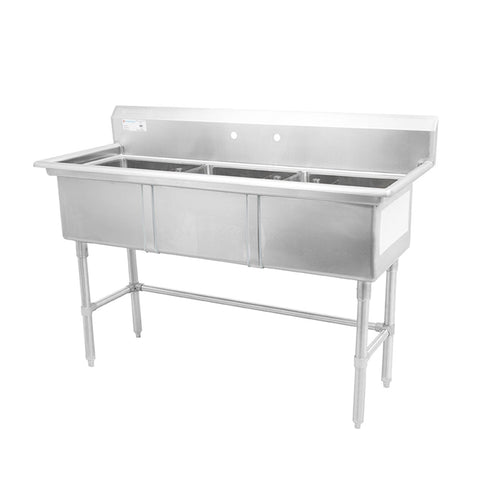 Thorinox TTS-1818-0 Triple sink (18