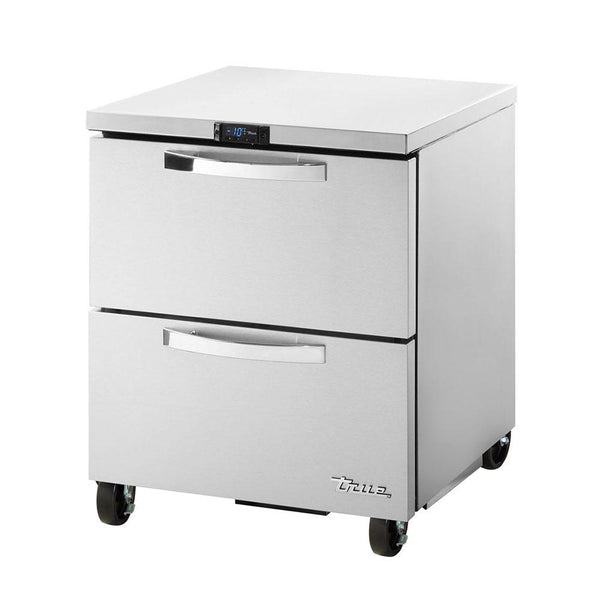 TRUE TUC-27F-D-2-HC~SPEC3 6.5-cu ft Undercounter Freezer w/ (1) Section & (2) Drawers